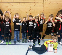 HALLENFUSSBALL – F-Junioren der DJK weiter gut in Form